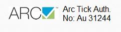 Arc Tick Auth No. 31244
